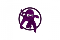 Purple Ninja Logo