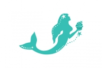 Mermaid Cupcakes Logo