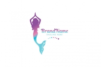 Mermaid Yoga Logo
