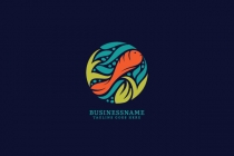 Swimming Fish Logo