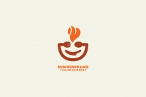 Hot Food Logo