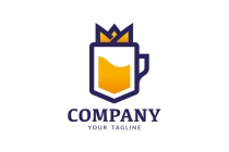 Royal Beer Glass Logo