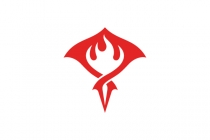Flame Stingray Logo
