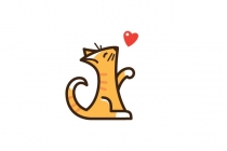 Cat Lover Logo