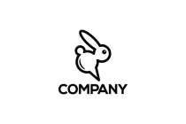 Chat Bunny Logo