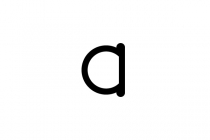 Letter A Coin Logo