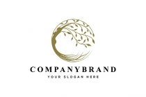 Woman Tree Logo
