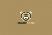 Teddy Bear Head Logo