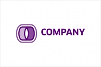 Purple Letter O Logo