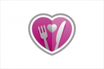 Heart Food Logo