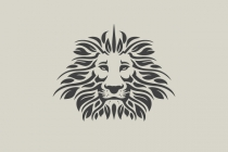 Lion Leaves Logo