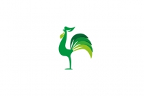 Green Rooster Logo