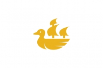 Duck And Ship Logo...