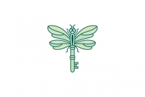 Dragonfly Key Logo
