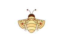 Bee Pizza Logo