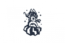 Pirate Astronaut Logo