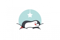 Sleeping Penguin Logo