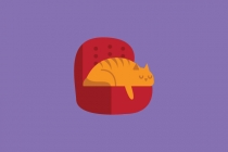 Lazy Cat Logo