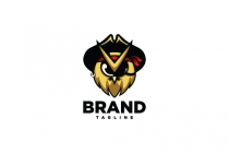 Owl Pirate Logo
