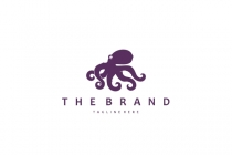 Simple Octopus Logo