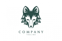 The Wolf Head Logo