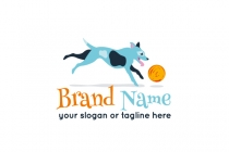 Playing Dog Logo