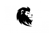 Lion Head Black And...