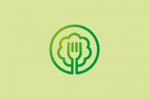 Tree Food Logo