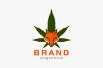 Cannabis And Fox Logo