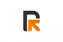 Letter R Arrow Logo