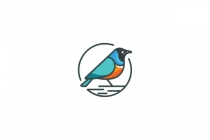 Starling Bird Logo
