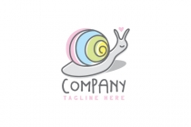 Colorful Snail Logo