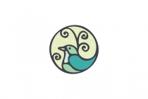 Bird In A Circle Logo