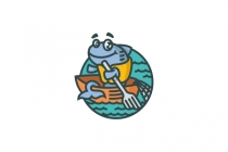 Fish Fisherman Logo
