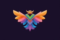 Owl Colorful Logo...
