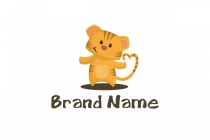 Cute Baby Tiger Logo