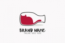 Wine Cat Logo