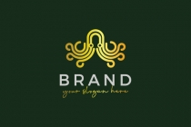 Luxury Octopus Logo