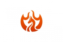 Dragon Flame Logo