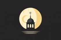 Mosque And Moon Logo