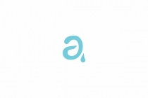 Letter A Water Logo