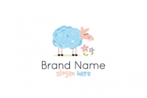 Cute Sheep Logo
