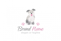 Fluffy Dog Logo