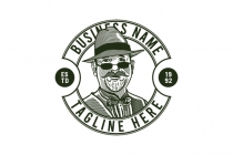 Old Wise Mafiozo Logo