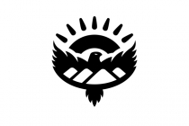 Mountains Eagle Logo
