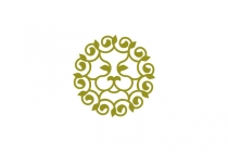 Lion Ornament Logo