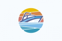 Sunset Ship Logo