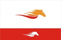 Flaming Horse Logo