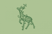 Deer Leaf Logo