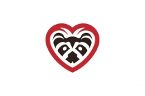 Raccoon Love Logo